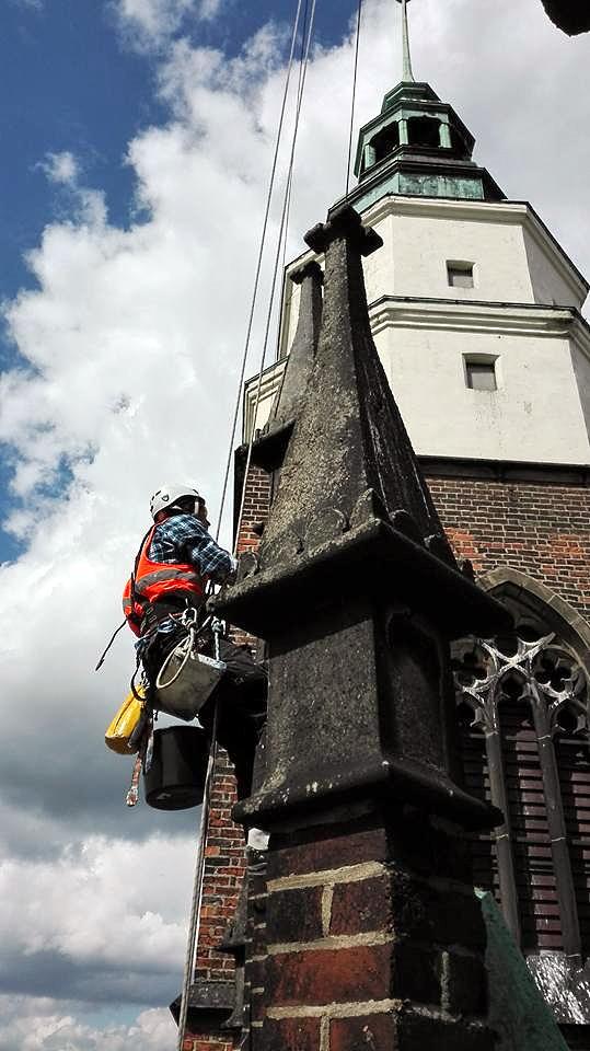 Реставрація фасадів на будинках. Херсон